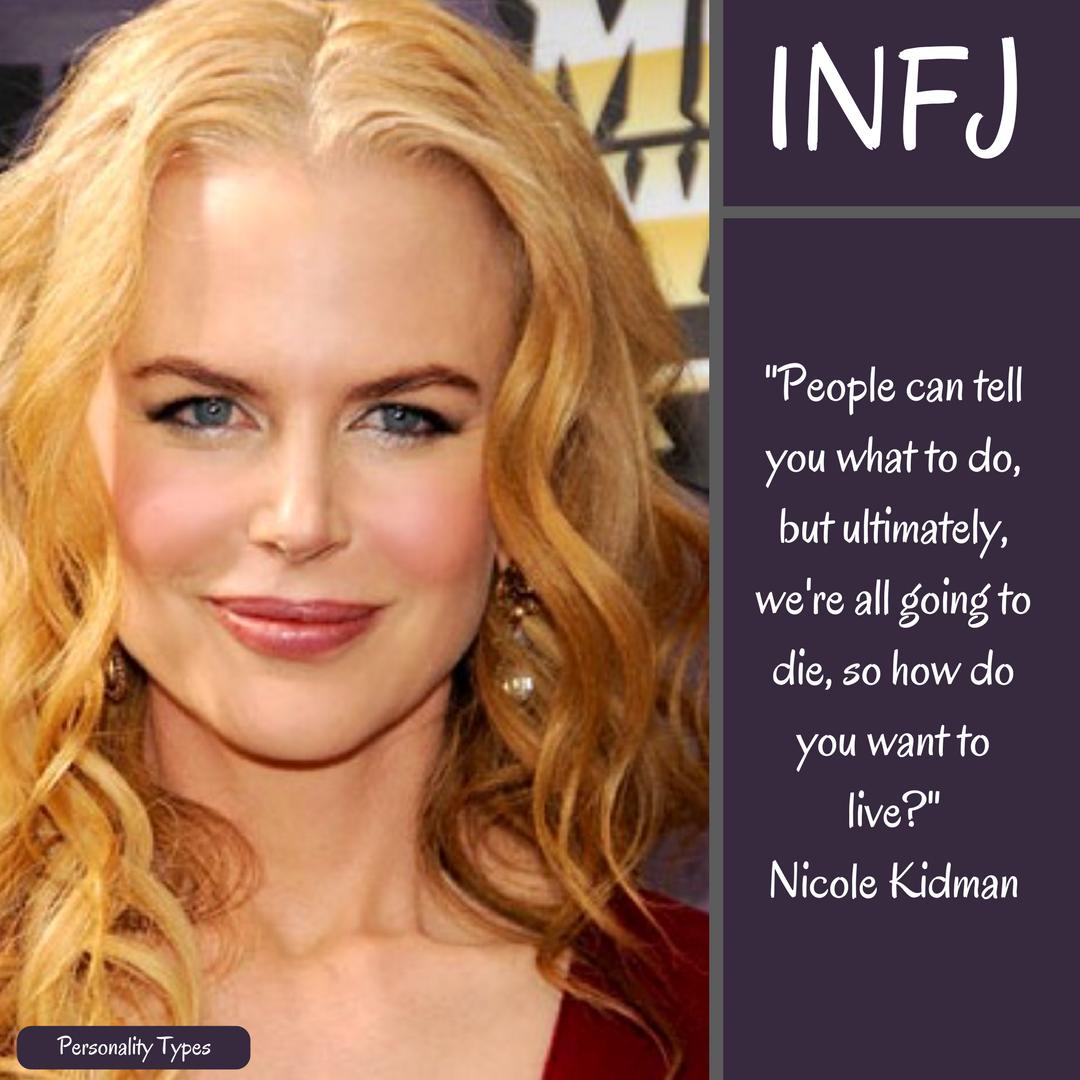 Nicole Kidman Quote INFJ Quote