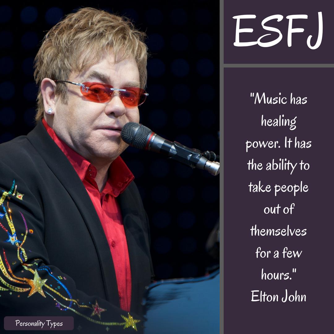 Elton John Quotes ESFJ Quotes