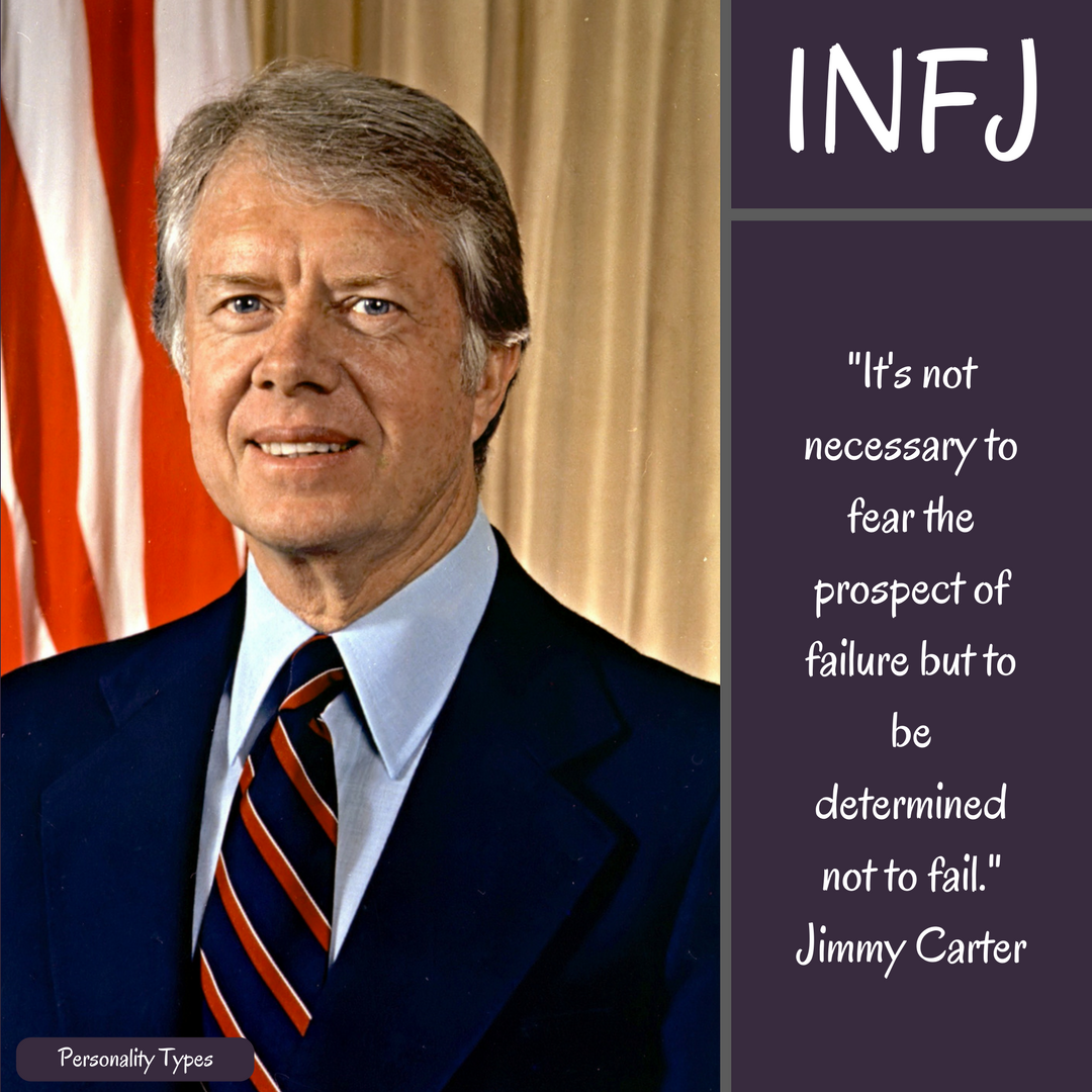 Jimmy Carter Quote INFJ Quote