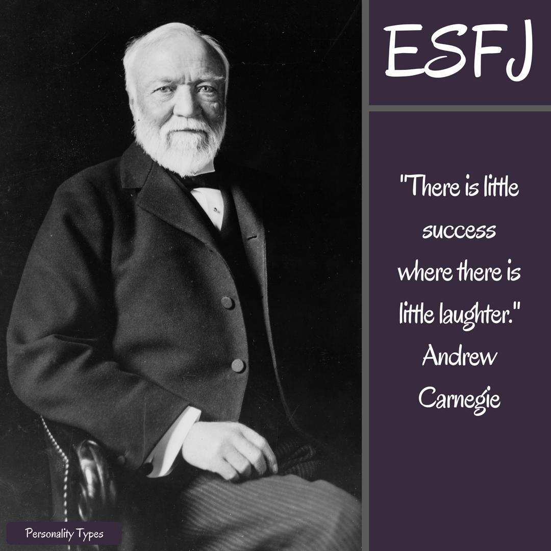 Andrew Carnegie Quotes ESFJ Quotes