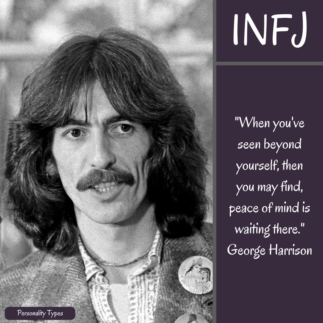 George Harrison Quote INFJ Quote