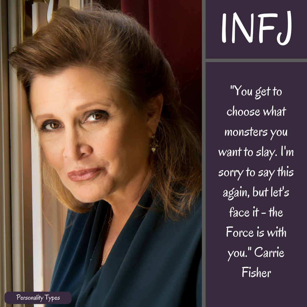Carrie Fisher Quote INFJ Quote