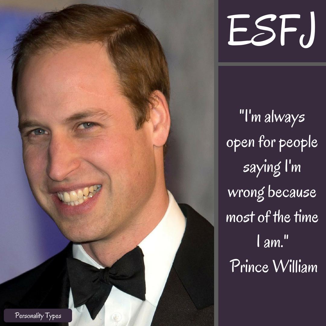 Prince William Quotes ESFJ Quotes