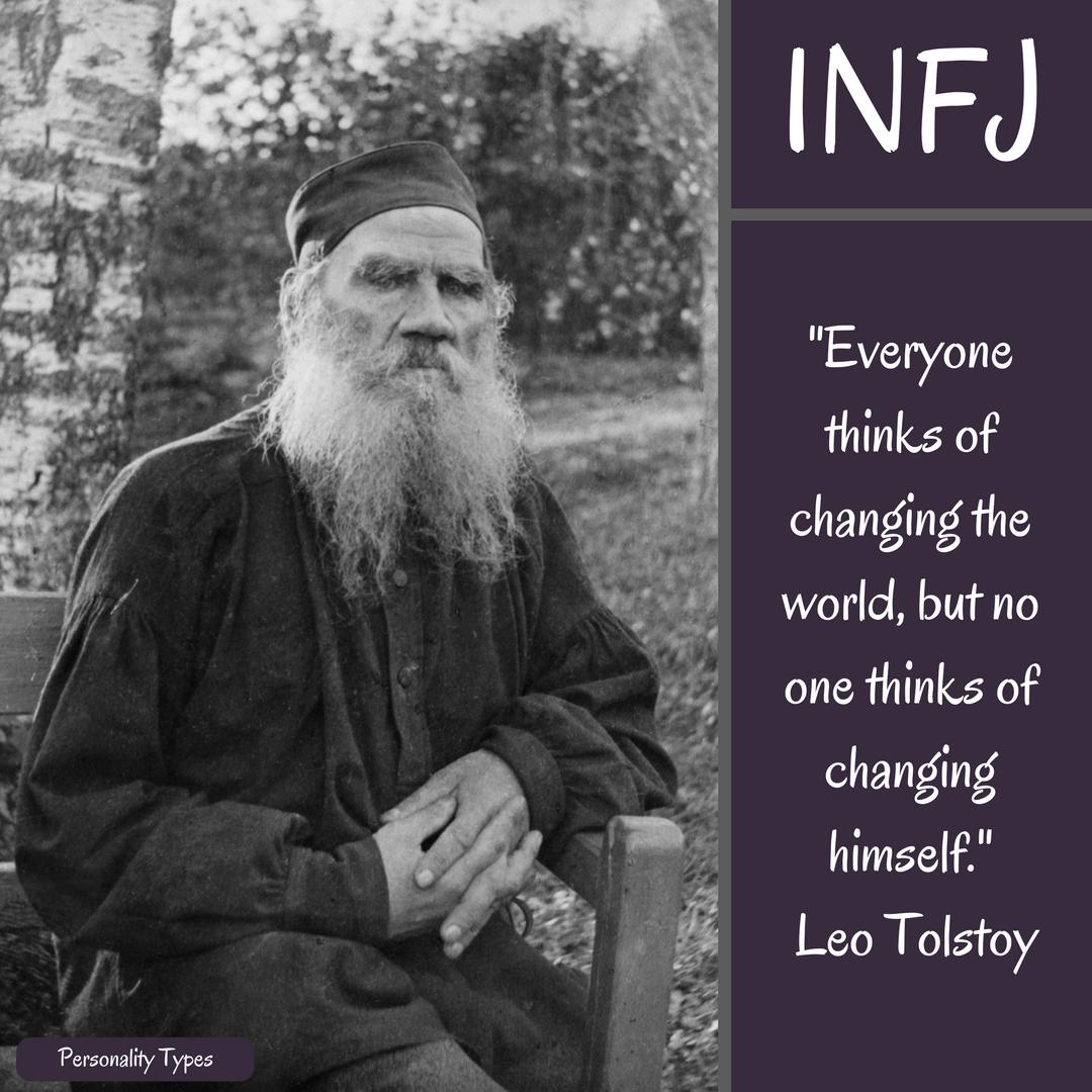 Leo Tolstoy Quote INFJ Quote