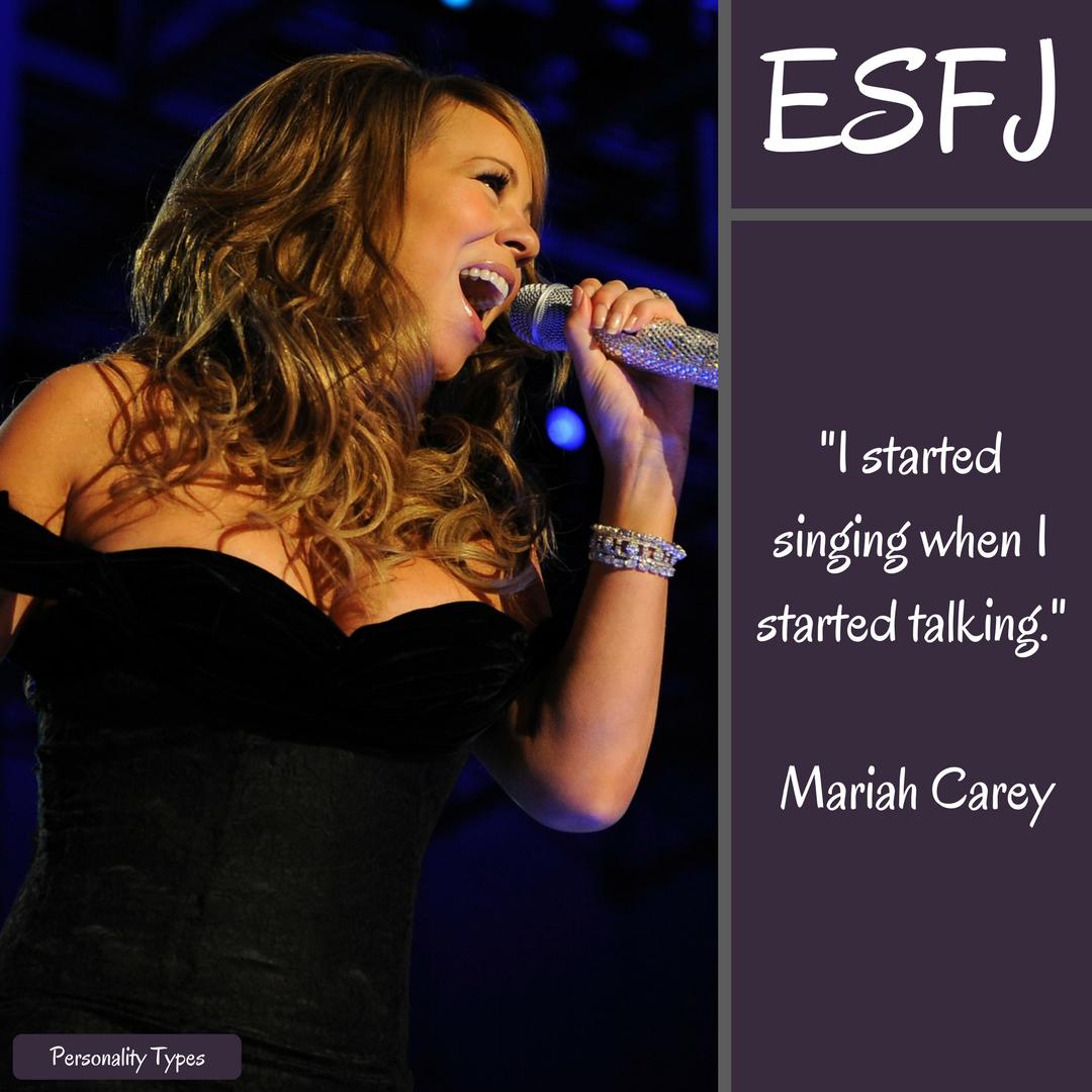 Maria Carey Quotes ESFJ Quotes