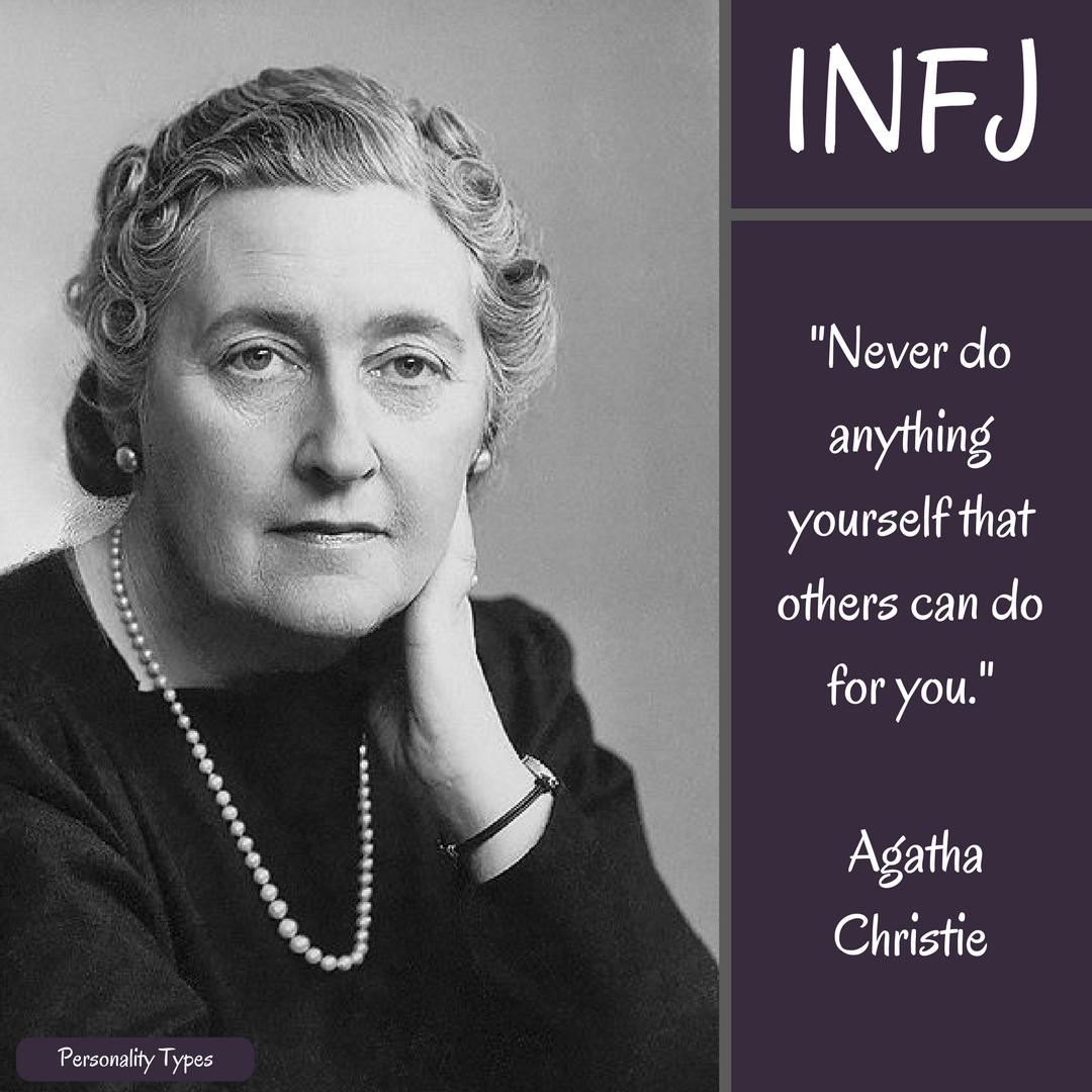 Agatha Christie Quote INFJ Quote