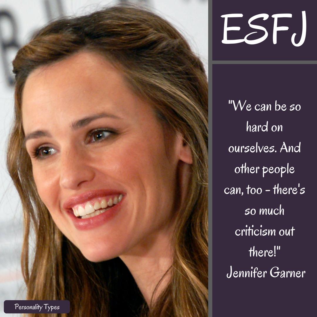 Jennifer Garner Quotes ESFJ Quotes