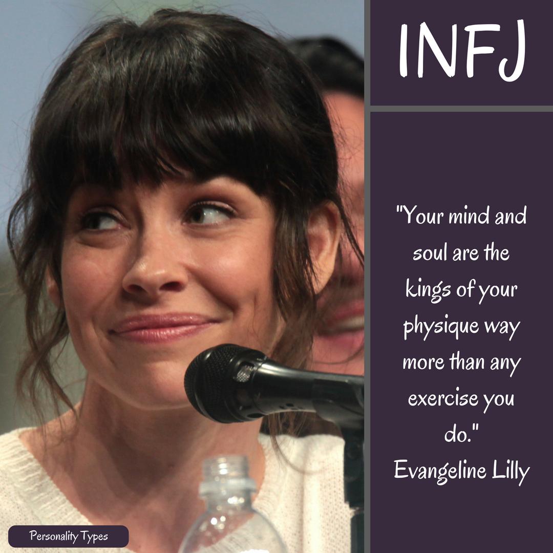 Evangeline Lilly Quote INFJ Quote