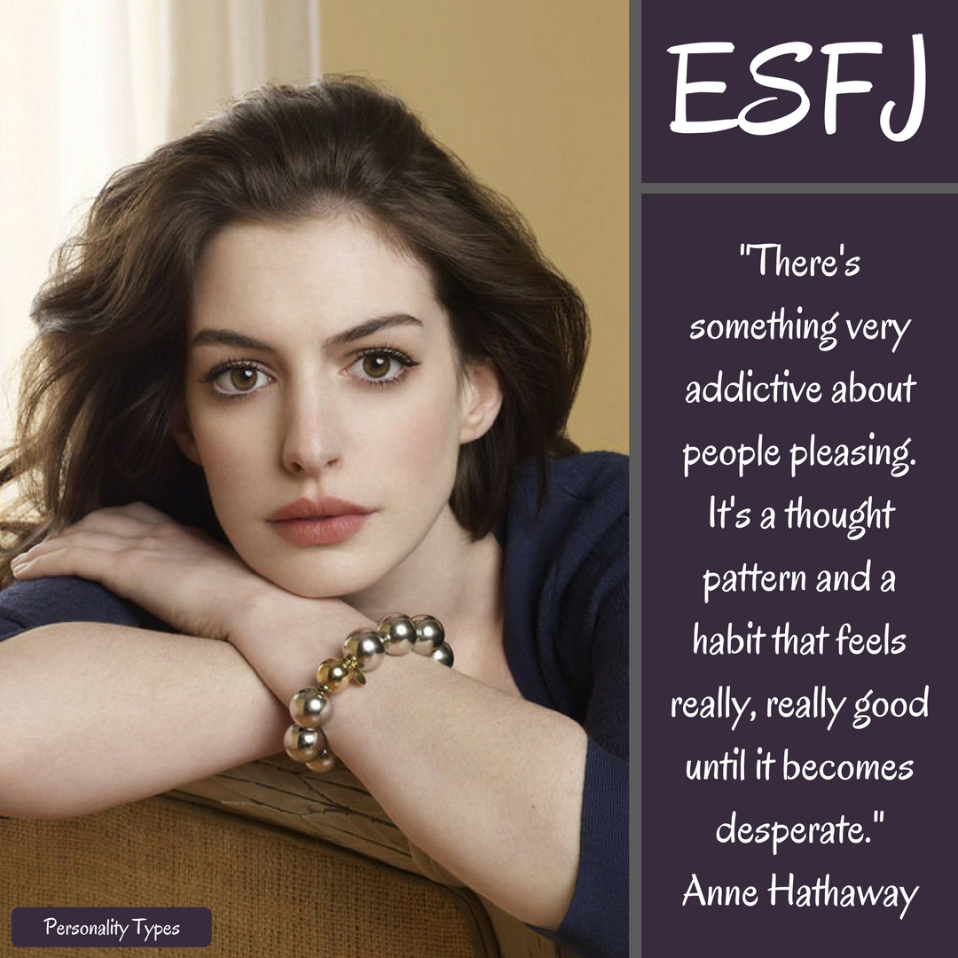 Anne Hathaway Quotes ESFJ Quotes