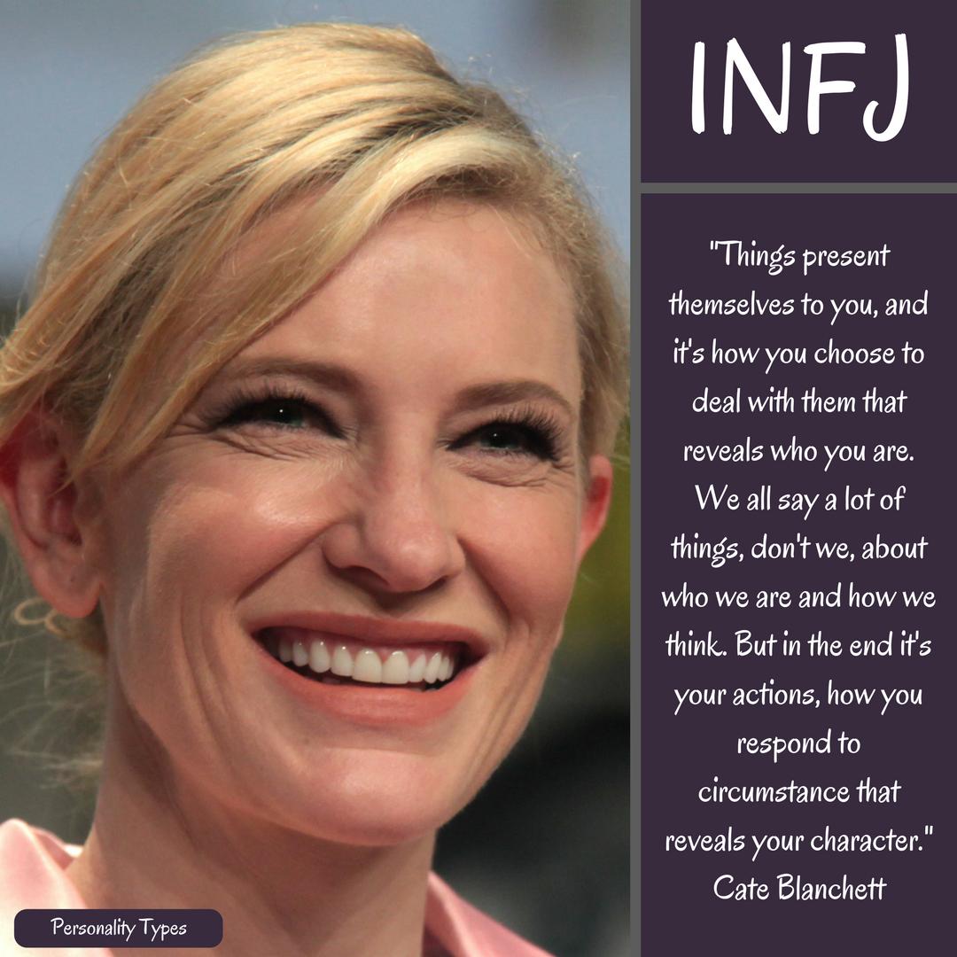 Cate Blanchett Quote INFJ Quote