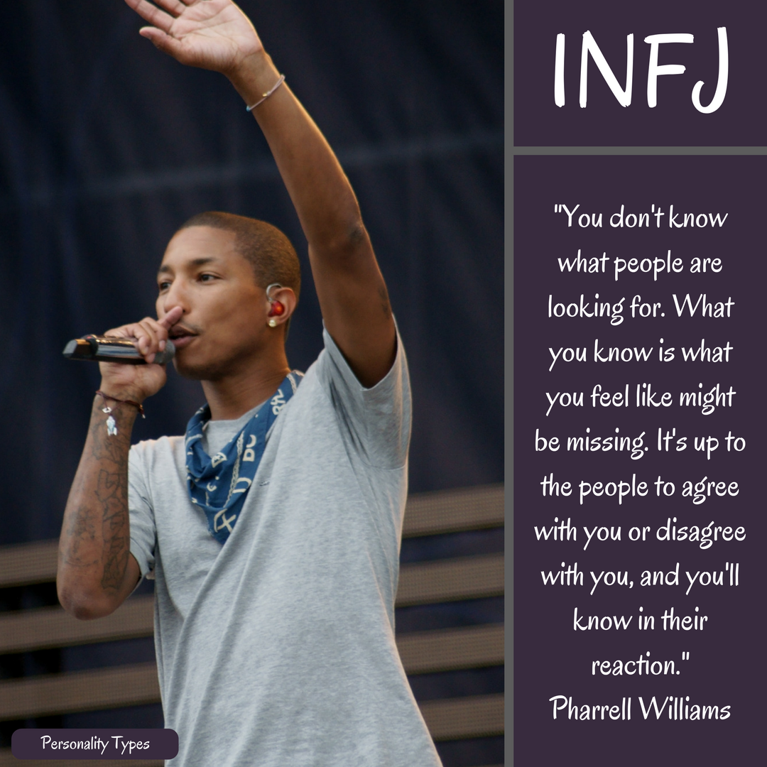Pharrell Williams Quote INFJ Quote