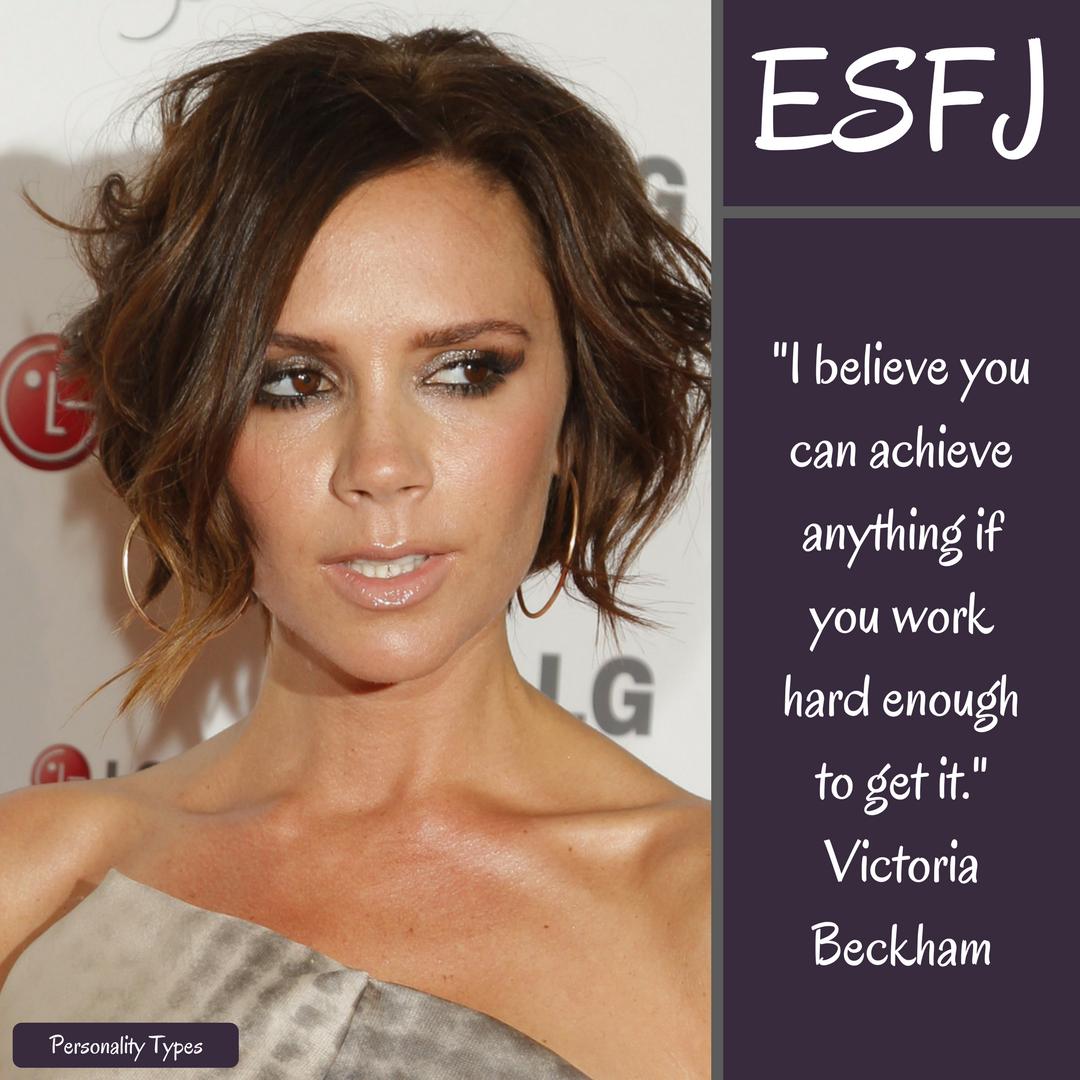 Victoria Beckham Quotes ESFJ Quotes