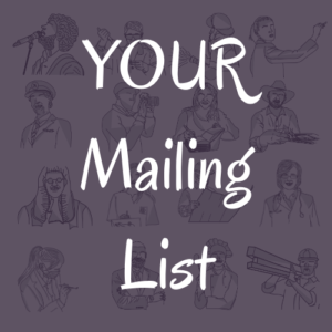 Your Mailing List Personality Types XYZ